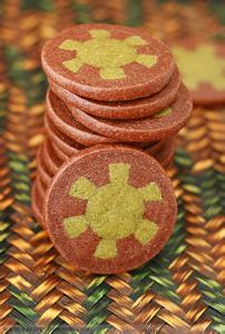 Poker chips småkager